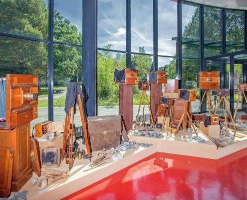 Deutsches Fotomuseum, Historische Reisekameras und Zubehör